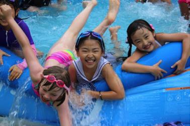 Third Pool Makes a Splash!