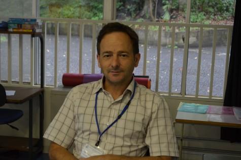 Mr. Knight is the new mathematics teacher at ISSH.
