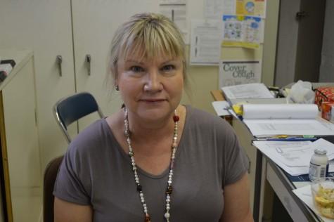 Mrs. Apple is the new school nurse.