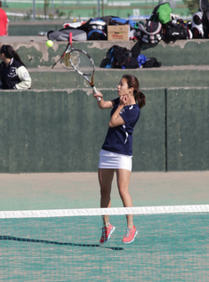 ISSH Doubles 2 player Nana P. worked well together with her partner, Nana M. to make it to the semi-finals in Chiba.