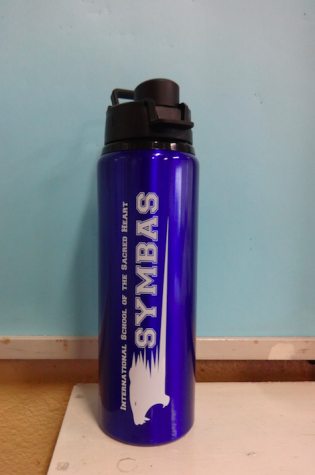 Symbas water bottle costs only 1000 yen.
