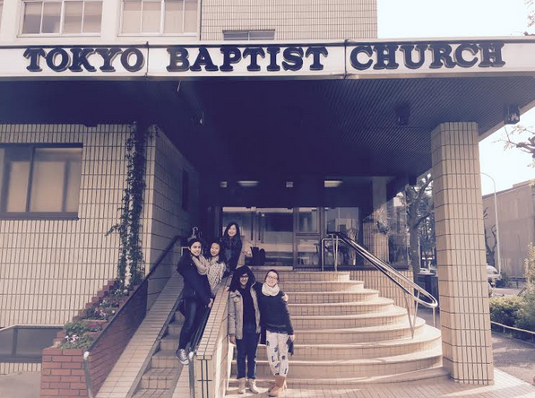 Tokyo Baptist Church was happy to take the toys to distribute to children on church mission trips.