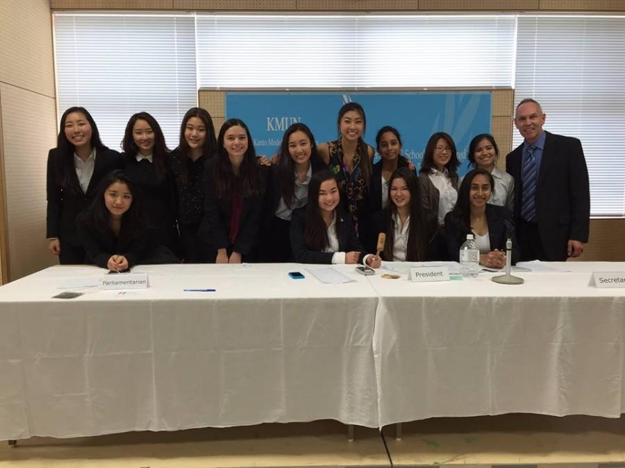 ISSH delegates in the Kanto Model United Nations