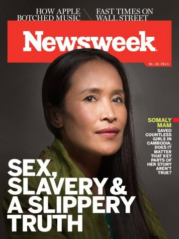 Somaly Mam's lies were revealed in Newsweek.