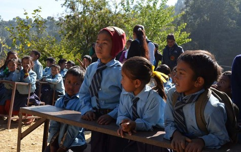 Nepalese students supported by SEEDS.