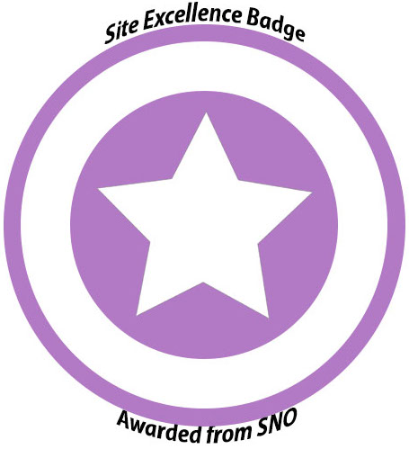 The International was awarded the SNO Site Excellence Badge.