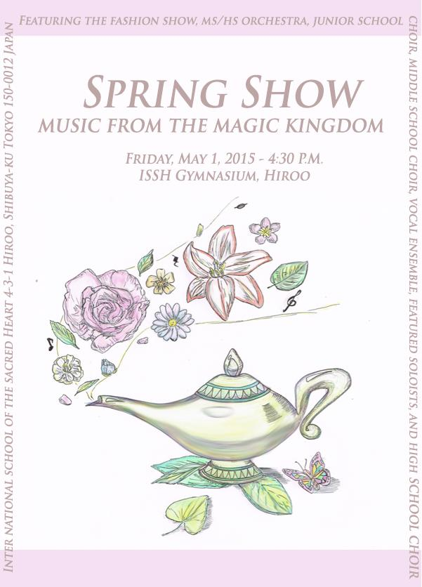 Spring Show will present music from the Magic Kingdom