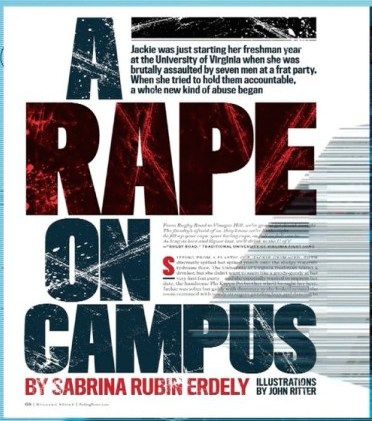 """Rolling Stone recently retracted the article """"A Rape On Campus."""""""