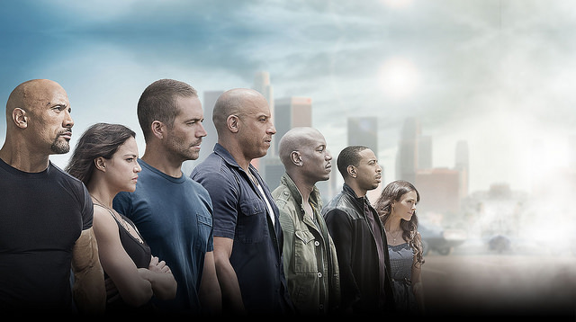 Fast and Furious 7 Theatrical Poster
