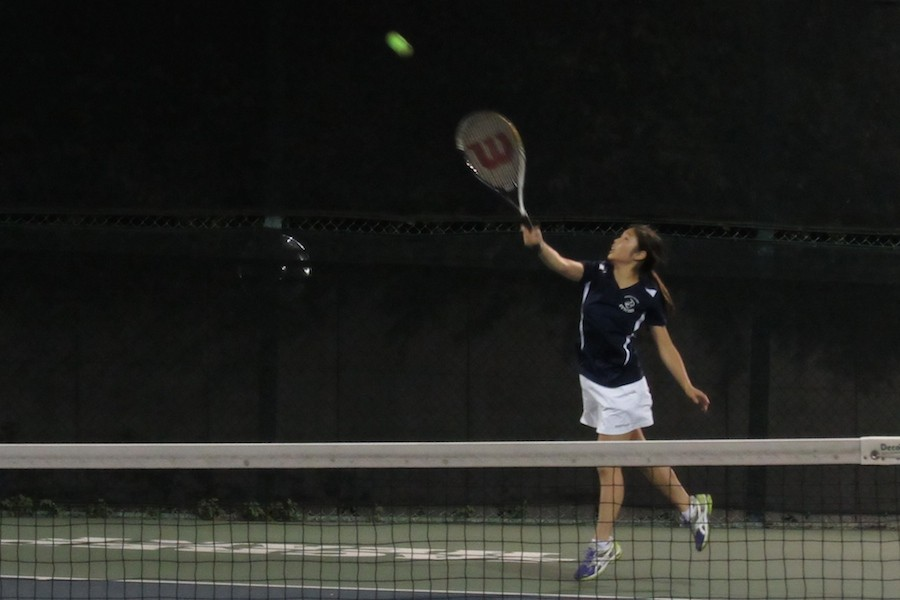 Symbas tennis ends their season with a rainless home game.