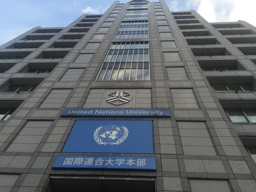 AP Economics classes attend lectures at the UN University