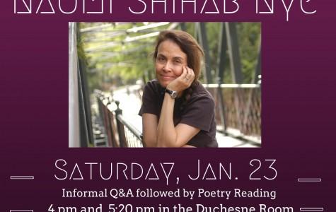 Sacred Heart to Host Poet, Naomi Shihab Nye