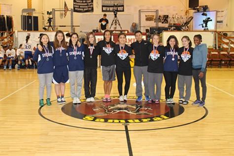 The Symbas Varsity Basketball team.