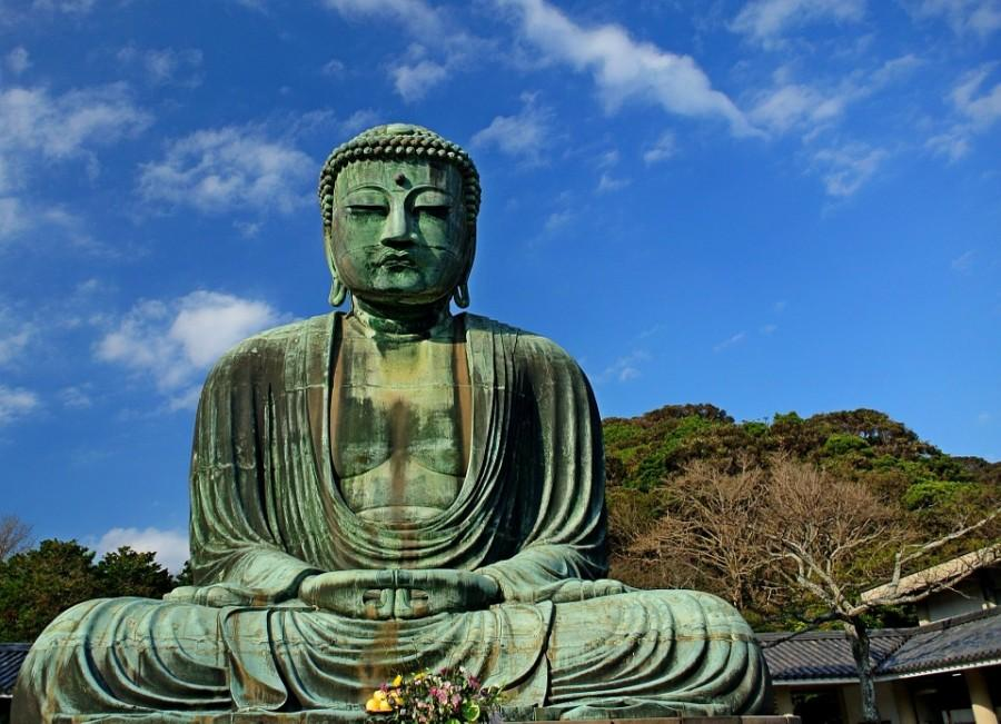 The+Great+Buddha+in+Kamakura.+