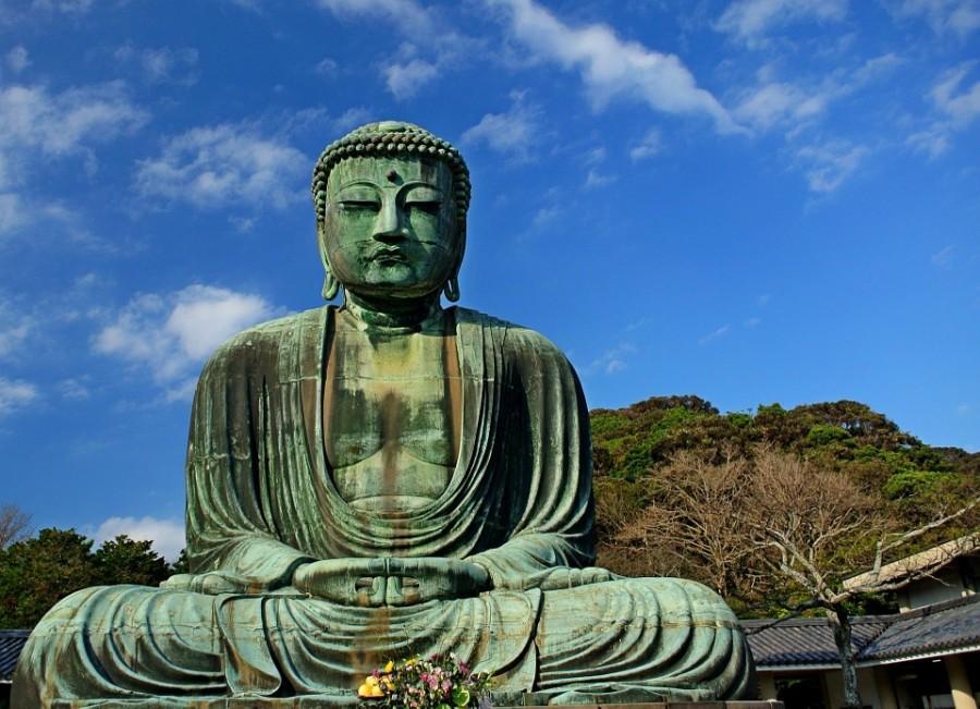 The Great Buddha in Kamakura.