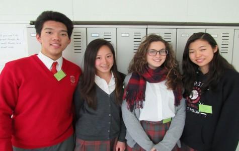 Starting from the left: Ziquan (11), Stepanie (10), Desire (9), Miyu (11)