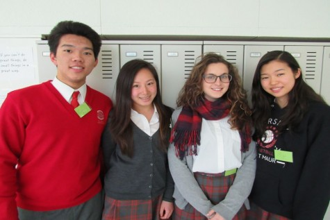 Global Issues Network Conference Inspires Six Middle School GIN Members