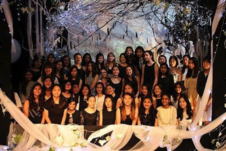 The girls of Class of 2020 enjoyed their night of Semi-Formal in their fabulous dresses and blasting music.