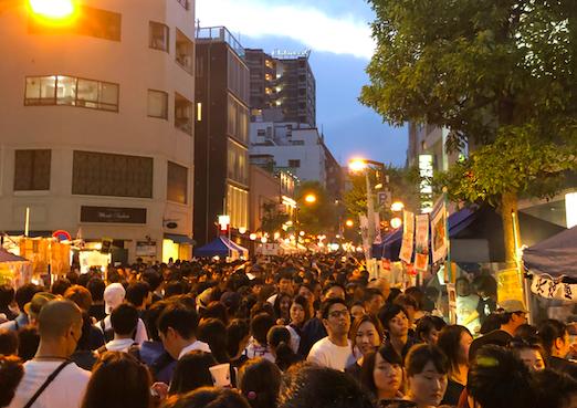 Azabu Juban Noryo festival
