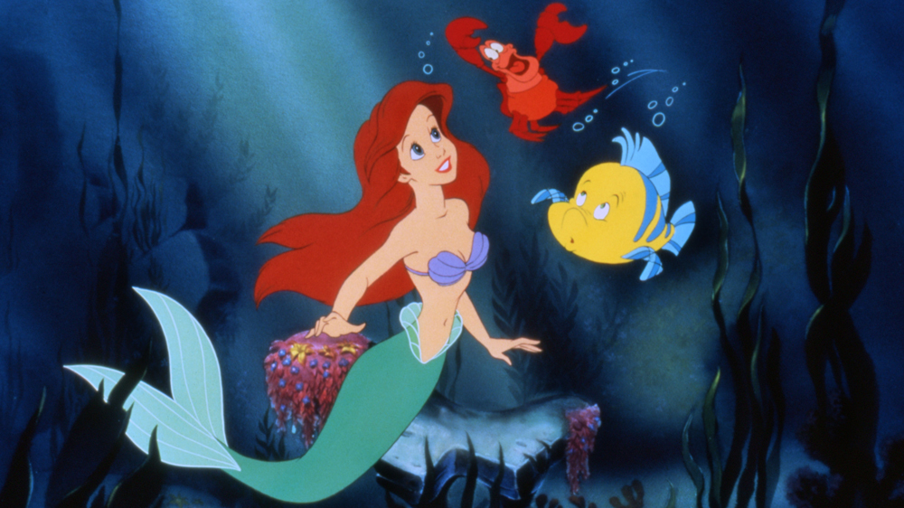 Classic Arial from the animated 'Little Mermaid'.