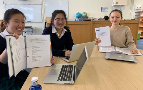 AP Seminar students spend much of the second semester pursuing a narrowed individual research project based on a topic assigned by the College Board.