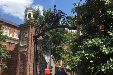 Harvard University Johnson Gate – This entrance is located in Harvard Yard and opens onto Harvard Square.