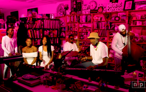 Enjoying live music at home with NPR's Tiny Desk concerts